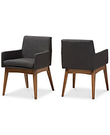 Odele Dining Armchair (Set Of 2), Quick Ship