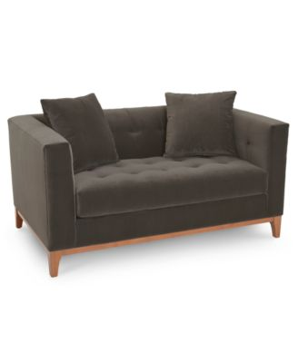 """Martha Stewart Collection Brookline 60"""" Loveseat, Created for Macy's"""