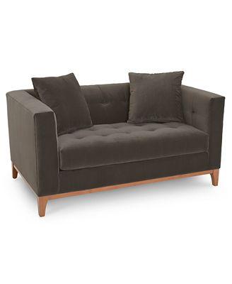 Furniture Martha Stewart Collection Brookline 60 Loveseat Created