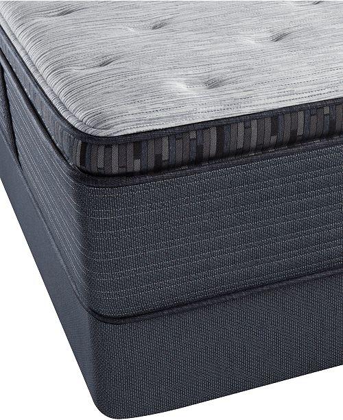 "Beautyrest Platinum Preferred Chestnut Hill 15"" Luxury Plush Pillow Top Mattress Set- Full"