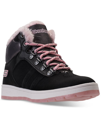 Skechers Little Girls' Street Cleat 2.0 - Trickstar Sneaker Boots from Finish Line