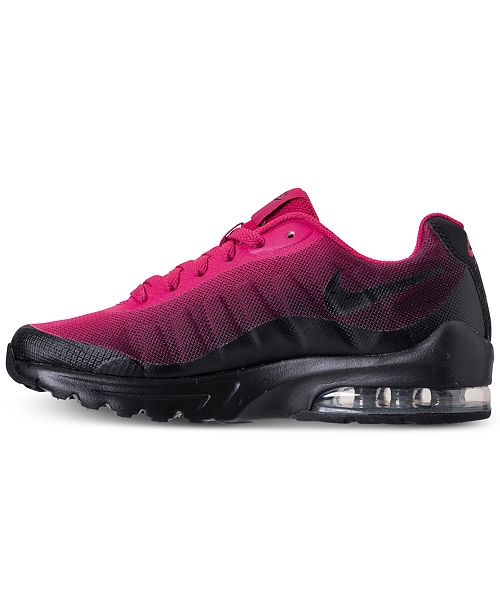 more photos d49c4 1bd5a ... Nike Big Girls  Air Max Invigor Print Running Sneakers from Finish Line  ...