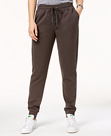 Material Girl Active Juniors' Lace-Up Sweatpants