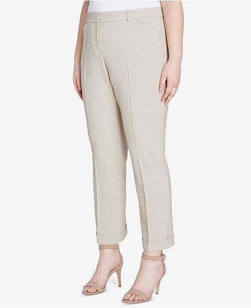 cfeb8b6c9d011 Tahari ASL Plus Size Stretch Slim-Fit Pants & Reviews - Pants ...