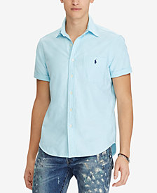 Polo Ralph Lauren Men's Big & Tall Short-Sleeve Classic Fit Oxford Shirt