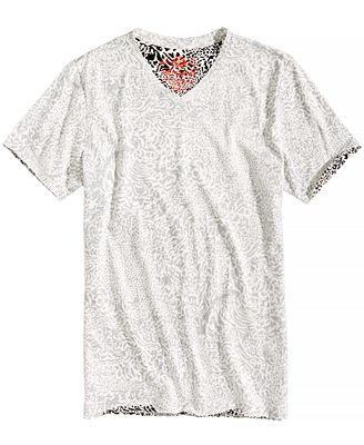 American Rag Men's Reverse Print T-Shirt, Created for Macy's