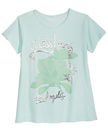 GUESS Logo T-Shirt, Big Girls