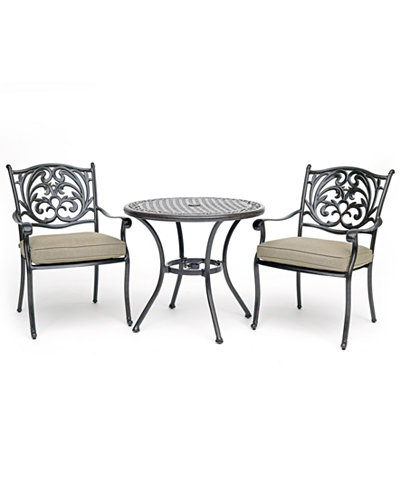 Chateau Outdoor Aluminum 3-Pc. Dining Set (32