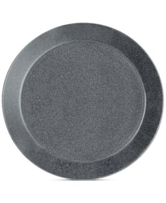 Teema Dotted Grey Bread & Butter Plate