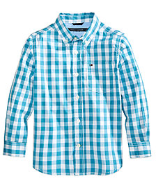 Tommy Hilfiger Ryan Plaid Shirt, Little Boys