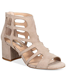 I.N.C. Women's Hartley Caged Dress Sandals, Created for Macy's