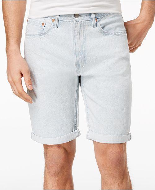 cfe5052eca3 Levi's Men's 502™ Classic-Fit Tapered Stretch Denim Shorts