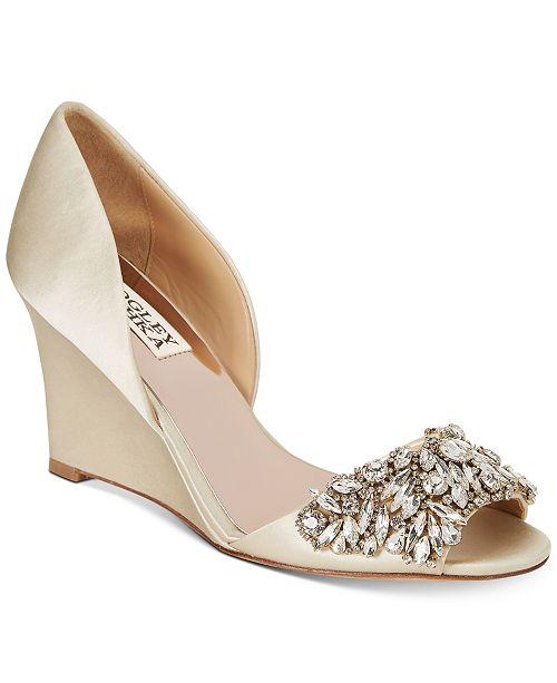 2cd2451c74 Badgley Mischka Hardy Evening Wedge Sandals & Reviews - Sandals ...