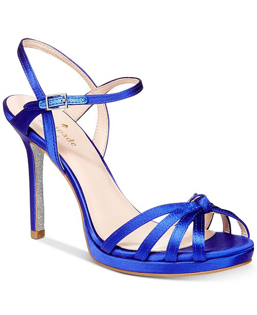 0ea9ee8fdc58 kate spade new york Florence Strappy Evening Sandals   Reviews ...
