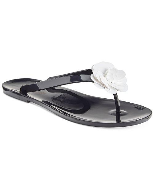 43a0f50d74df kate spade new york Fiorina Jelly Flip Flops   Reviews - Sandals ...