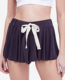 Free People Legs For Days Soft Drawstring Shorts