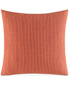 "Nautica Ripple 16"" x 16"" Waffle Decorative Pillow"