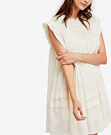 Free People Nobody Like You Cotton Peasant Dress