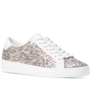 Michael Michael Kors Irving Lace-Up Sneakers Women's Shoes 4785516