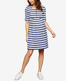 Isabella Oliver Maternity Striped Dress