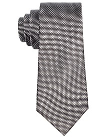 로렌 랄프로렌 보이즈 넥타이 Lauren Ralph Lauren Dot-Print Silk Necktie, Big Boys,Black