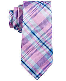 Lauren Ralph Lauren Plaid Silk Necktie, Big Boys