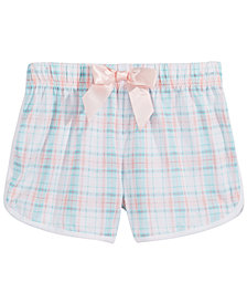 Max & Olivia Plaid Pajama Shorts, Little & Big Girls