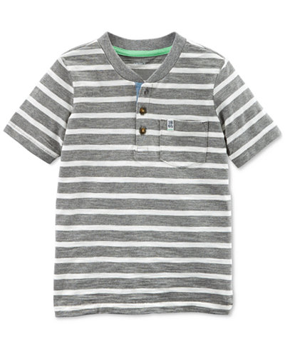 Carter's Striped Cotton Henley, Toddler Boys