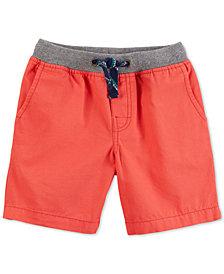 Carter's Ribbed-Waist Cotton Shorts, Toddler Boys