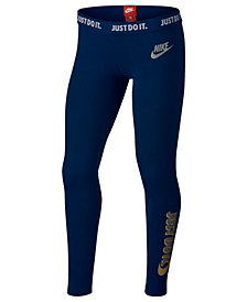 Nike Sportswear Leggings, Big Girls