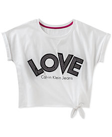 Calvin Klein Cotton Love T-Shirt, Big Girls