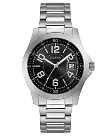 GUESS Men's Stainless Steel Bracelet Watch 42mm