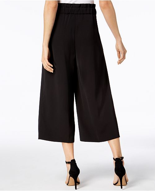 Leg Cropped Anne Eclipse Pants Klein Wide qARqnOY1