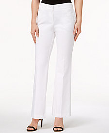 Anne Klein Double-Weave Sailor Pants