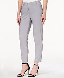 Anne Klein Howard Hawk Straight-Leg Pants
