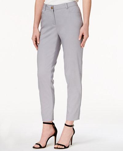 Anne Klein Howard Hawk Straight-Leg Pants