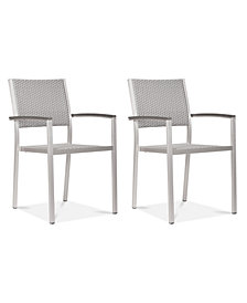 Yorke Arm Dining Chair (Set Of 2), Quick Ship