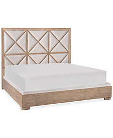 Bridgegate Upholstered California King Bed