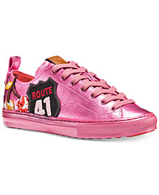 COACH Cherry Patches Lace-up Sneakers