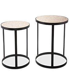 Delynn Side Table (Set Of 2), Quick Ship