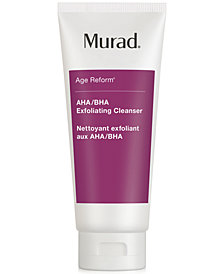 Murad Age Reform AHA/BHA Exfoliating Cleanser, 6.75-oz.