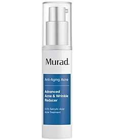 Anti-Aging Acne Advanced Acne & Wrinkle Reducer, 1-oz.