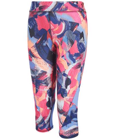 adidas Climalite® Capri-Length Leggings, Toddler Girls