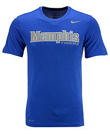Nike Men's Memphis Tigers Dri-Fit Legend Wordmark T-Shirt