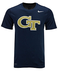 Nike Men's Georgia-Tech Dri-Fit Legend 2.0 Logo T-Shirt