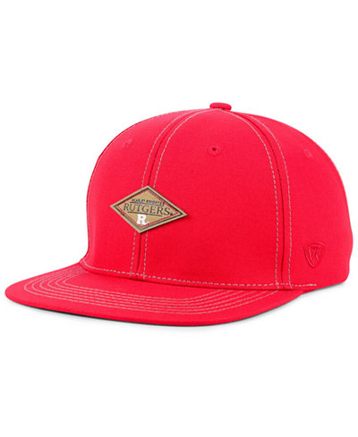 Top of the World Rutgers Scarlet Knights Diamonds Snapback Cap