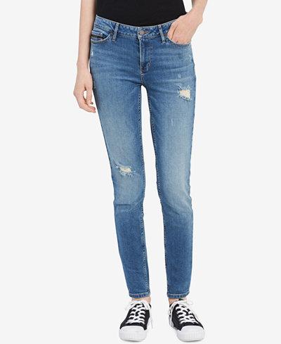 Calvin Klein Jeans Destructed Jeggings