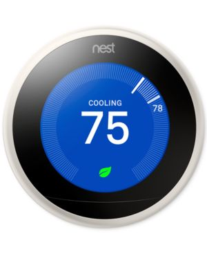 Image of Google Nest Learning Thermostat - 3rd Generation, Stainless Steel