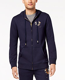 True Religion Men's Shattered Logo Hoodie