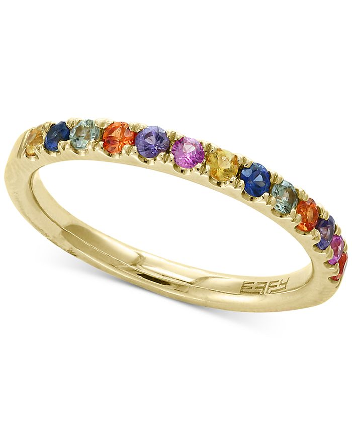 EFFY Collection - Multi-Sapphire Band (5/8 ct. t.w.) in 14k Gold